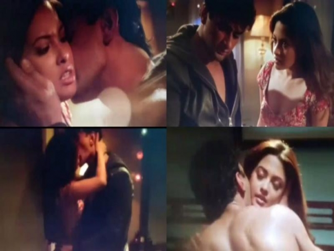 Watch: Riya Sen's hot lovemaking scene in Ragini MMS 2.2 gets leaked, goes viral