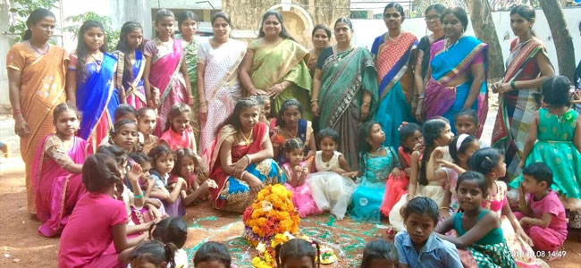 Bathukamma fest celebrated
