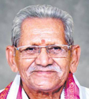 Father of Ghanta Chakrapani passes away