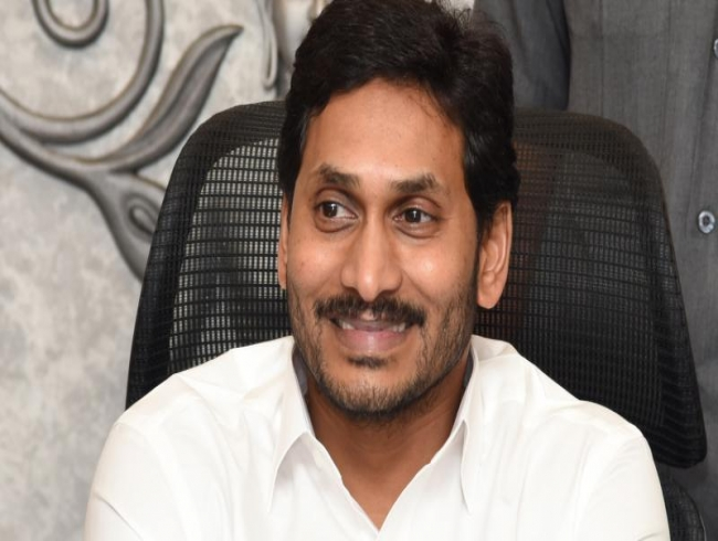 Jagan asks critics of English medium: Which schools do your kids go to?