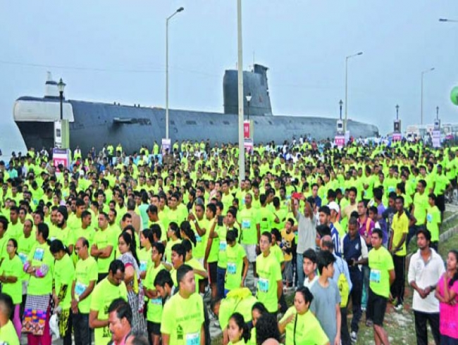 Visakhapatnam gears up for fourth Navy Marathon