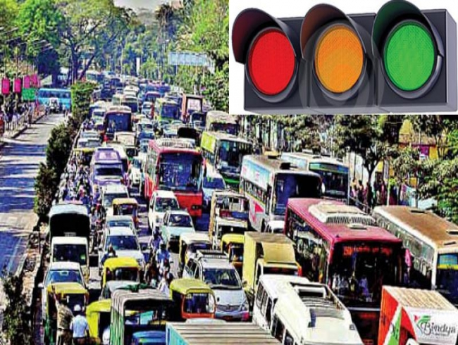Visakhapatnam: Poor maintenance hits traffic signals