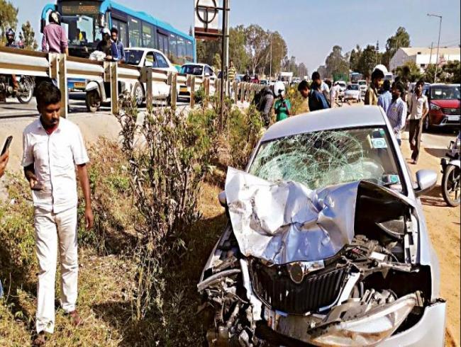 Bengaluru: Speeding car kills biker