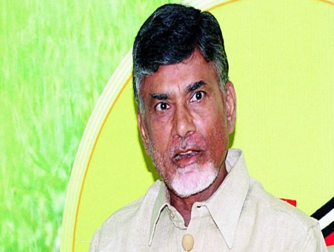 Chandrababu Naidu meets V-C of Sharaf Group