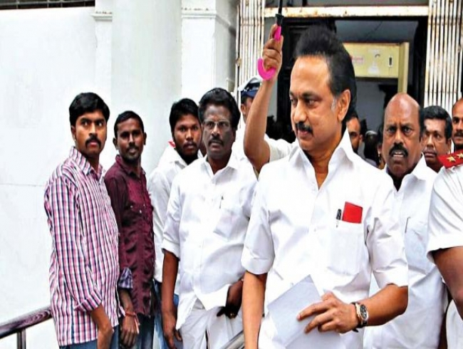 DMK stages walkout over Jeyakodi transfer issue