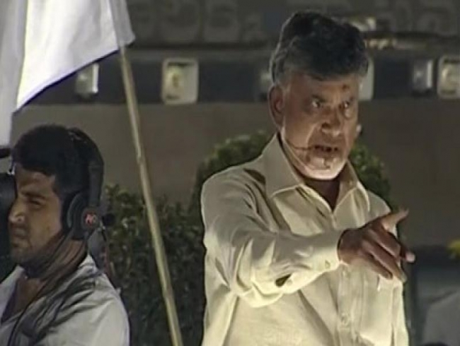 Andhra CM calls Jagan Reddy, K Chandrasekhar Rao 'pet dogs of Modi'