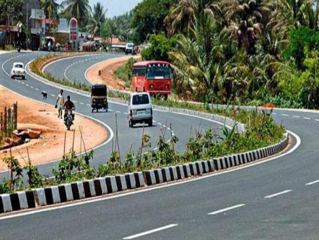 Gannavaram highway turns into a deathtrap