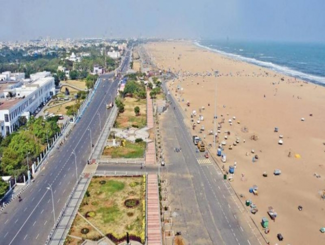 Abused, robbed of its beauty, none to take care of Marina Beach
