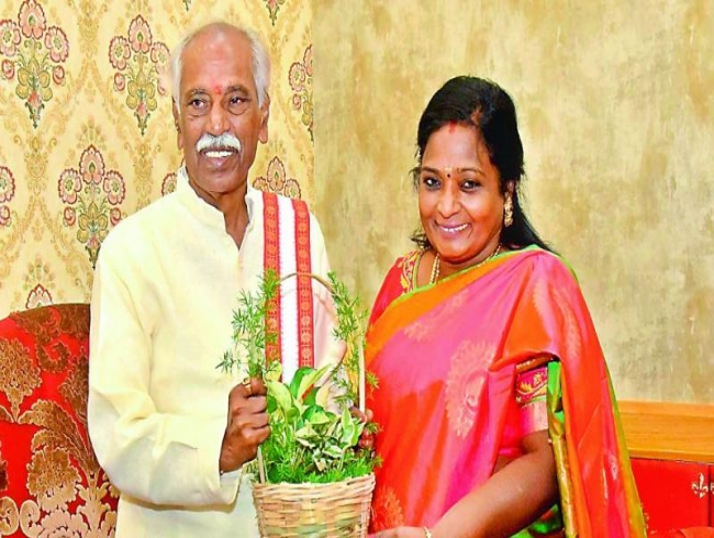 No bouquets please, says Tamilisai Soundararajan