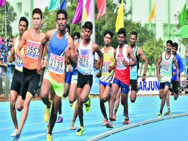 220 teams participate in Acharya Nagarjuna University athletics meet