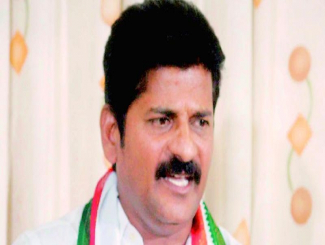 A Revanth Reddy seeks action against TPCC chief