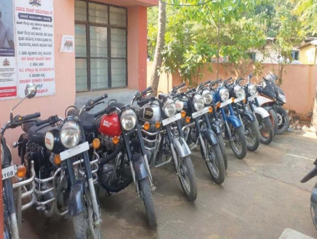 Bengaluru: Bullet Khan, 2 others arrested for lifting bikes