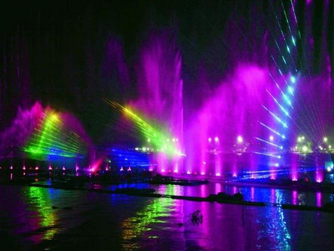 Bhavani island's laser show to draw crowds