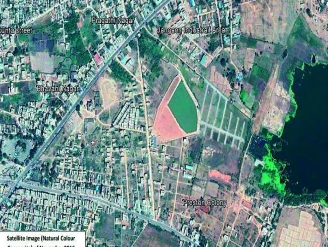 Telangana: Land sharks convert tank into a park