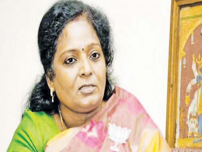 Tamilisai Soundararajan sworn in Telangana Governor