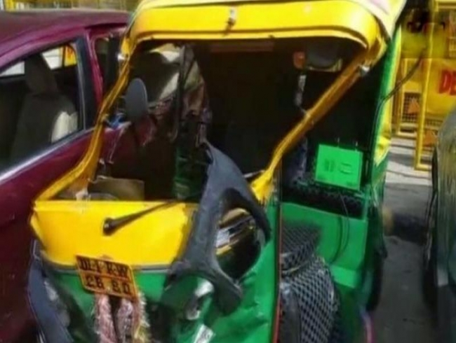 Illegal driving: 17-yr-old Delhi boy rams car into auto rickshaw, kills driver