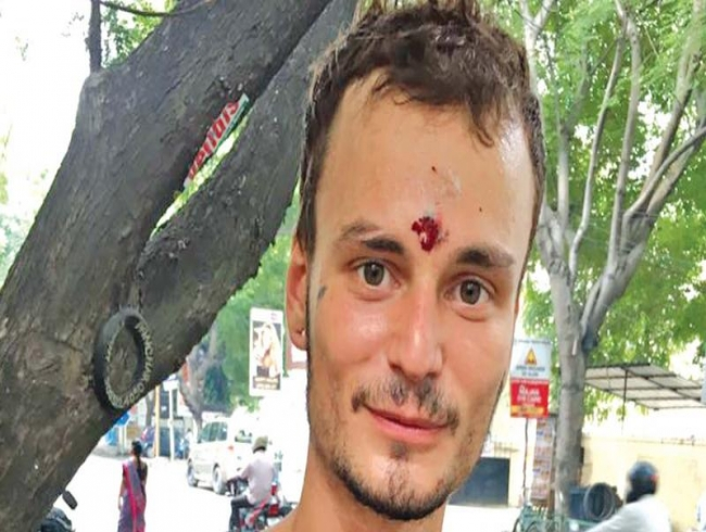 Chennai: I will continue begging, says tourist