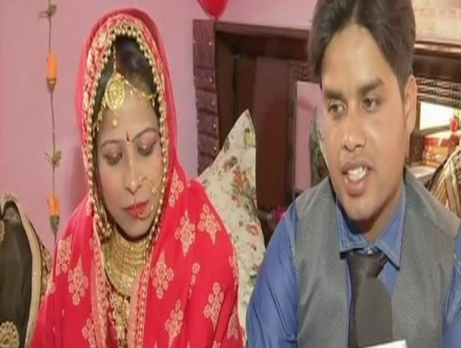 Muslim couple marries adopted Hindu child off as per his religious customs