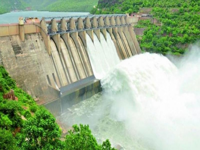 As water level swells, Srisailam dam floodgates opened today