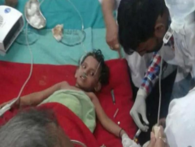 Watch: 3-yr-old rescued from 110-feet borewell in Bihar after 30 hours