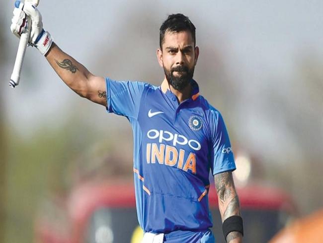Good luck charm for Virat Kohli