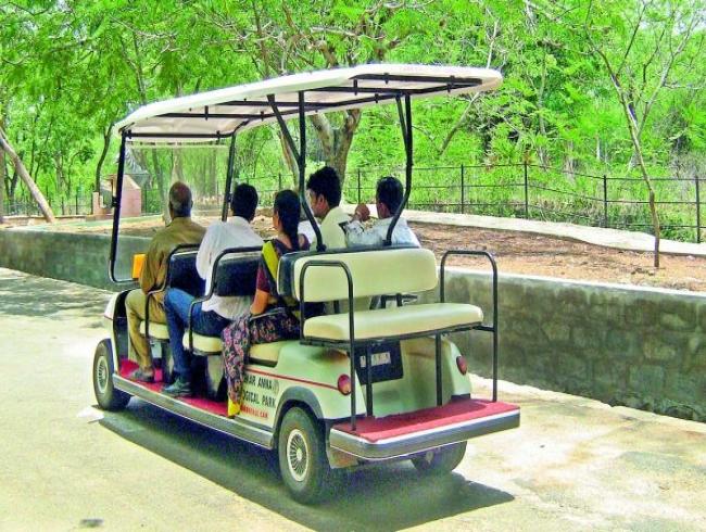 Going on safaris e-way
