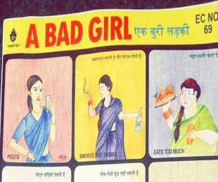 Indian 'bad girl' pouts, smokes and drinks, has breasts? Social media set abuzz over viral image