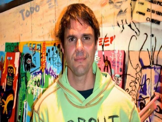 Artist Alonzo Vega lives in a creative battlefield