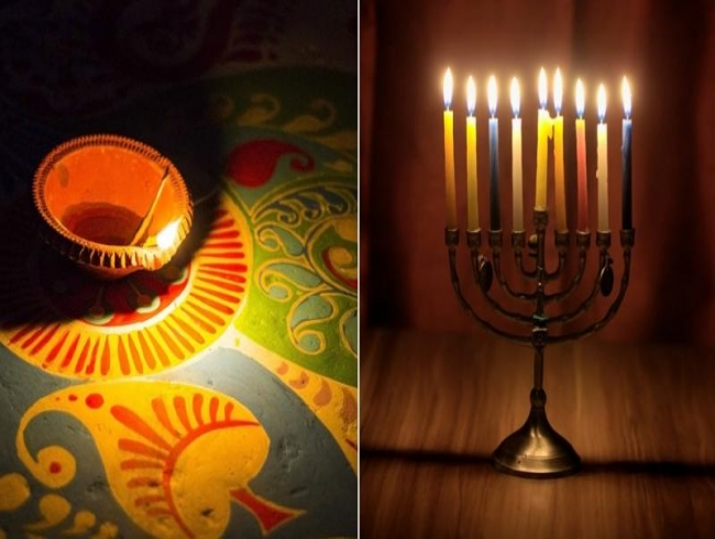 Hindu, Jewish community to celebrate Diwali, Chanukah together in Chicago