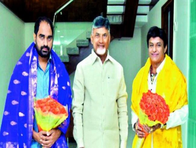 N Chandrababu Naidu praises Balakrishna for pulling off NTR's role