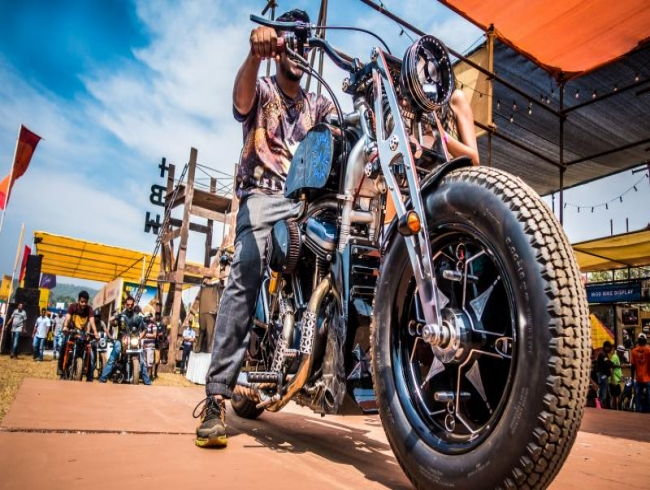 For love of outdoors: Riders celebrate motorcycles at India Bike Week