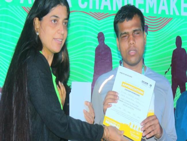 Meet Tilak Prasad Joshi: Visually impaired marathon runner