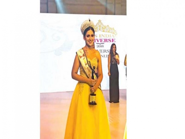 Fashion stylist gets in shape to win national beauty pageant