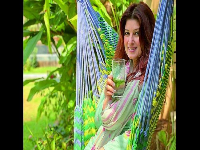 'Brown girl' Twinkle Khanna's green thumb