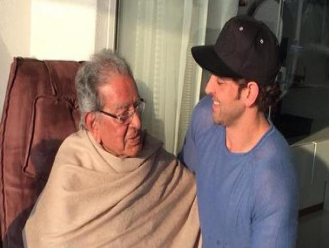 Hrithik Roshan's grandfather and veteran filmmaker J Om Prakash passes away