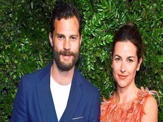 Jamie Dornan and wife Amelia Warner expecting third child