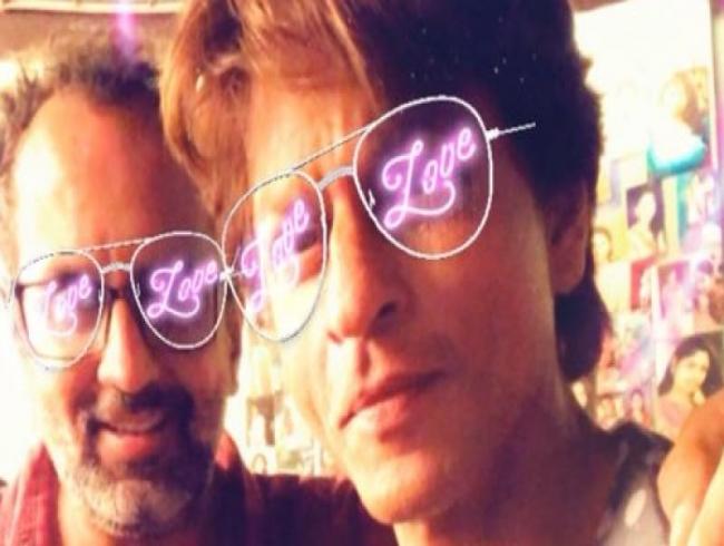 'Pyaar hi pyaar beshumar ho gaya': SRK, Aanand L Rai's moment and lovely messages