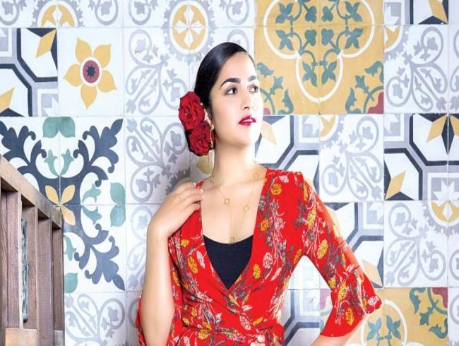 Talented Rukmini Vasanth in reel life