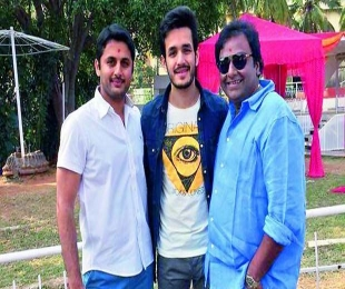 Akhil Akkineni's much-awaited debut film finally launched