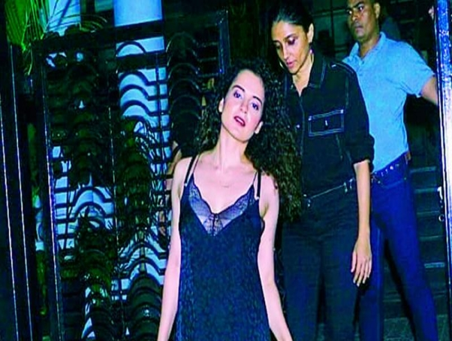 Kangana Ranaut looks for a break at Cannes Film Festival