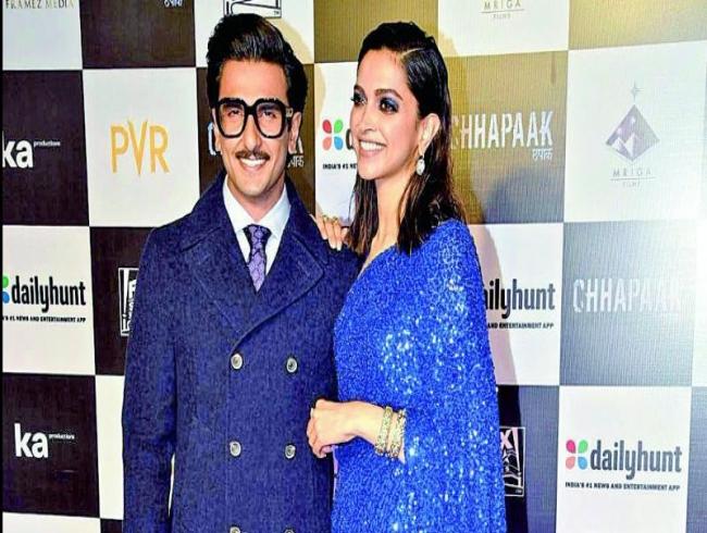 Ranveer Sing's proud of Deepika Padukone
