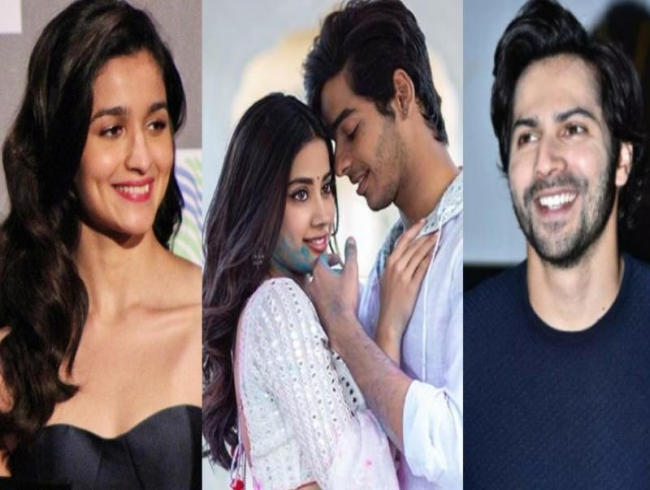 'Dhadak looks awesome': Varun, Alia, other stars welcome 'sparkling' Janhvi, Ishaan