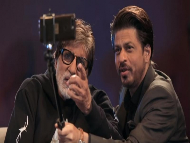 Badla Unplugged - Episode 2: Big B and SRK create exclusive ode for each other