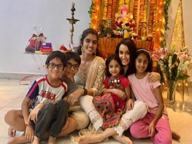 I get to catch up with all my relatives during Ganpati festival: Shraddha Kapoor