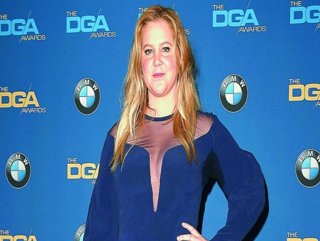 Amy Schumer jokes about her pregnancy