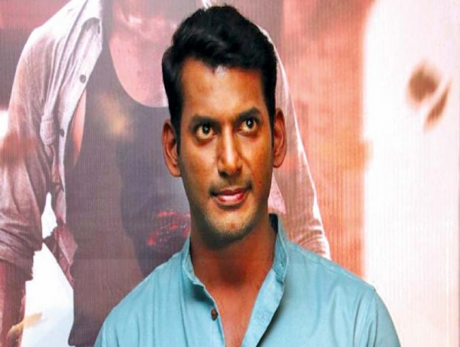 Vishal dons the director's hat for his 'pet' project