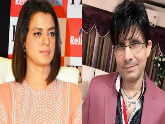 KRK and Kangana's sister Rangoli get into one of the ugliest spats on Twitter