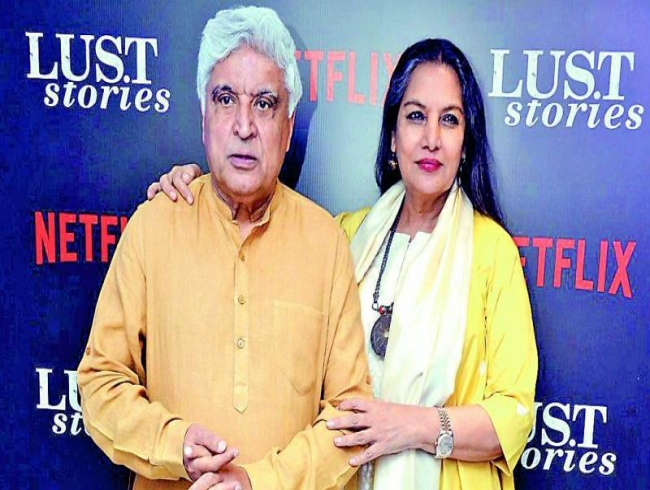 Shabana Azmi's birthday surprise for Javed Akhtar