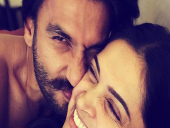 Deepika Padukone's 'cuddles and snuggles' pic with Ranveer Singh & sis is all hearts!