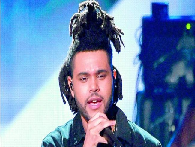 The Weeknd breaks down in tears on stage at Coachella